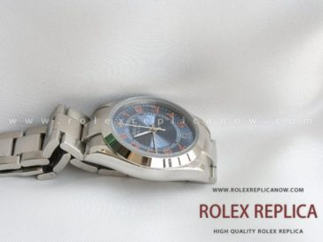 Rolex Air King Replica Blue Dial