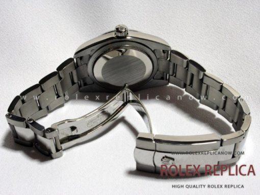 Rolex Date Just Replica White Dial