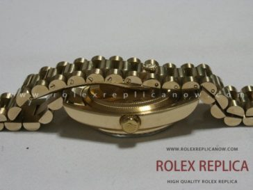 Rolex Day Date Replica Black Dial Gold