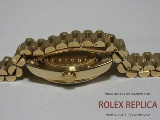 Rolex Day Date Replica Gold with Diamonds