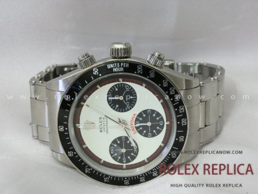 Rolex Daytona Paul Newman Replica White Dial A7750 Swiss Eta (6)