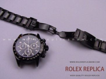 Rolex Daytona Pro Hunter Replica Pvd Black A7750 Swiss Eta (11)