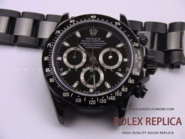 Rolex Daytona Pro Hunter Replica Pvd Black A7750 Swiss Eta (13)