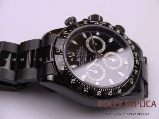 Rolex Daytona Pro Hunter Replica Pvd Black A7750 Swiss Eta