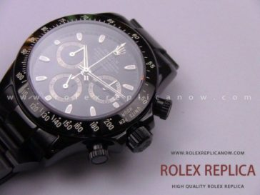 Rolex Daytona Pro Hunter Replica Pvd Black A7750 Swiss Eta (19)