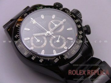 Rolex Daytona Pro Hunter Replica Pvd Black A7750 Swiss Eta (22)