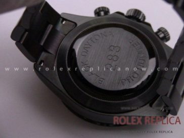 Rolex Daytona Pro Hunter Replica Pvd Black A7750 Swiss Eta (24)