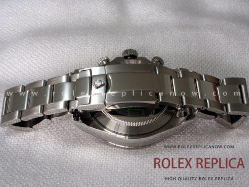 Rolex Daytona Replica Black Dial Red Hands A7750 Swiss Eta