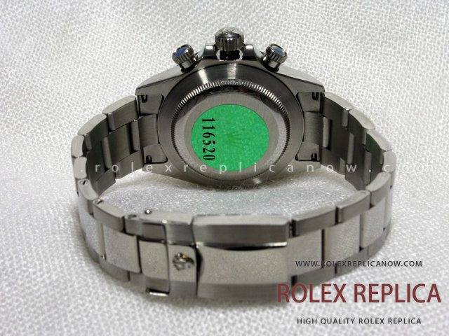 Rolex Daytona Replica Black Dial Steel A7750 Swiss Eta