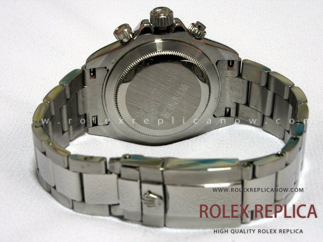 Rolex Daytona Replica Black Dial with Diamonds