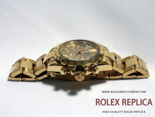 Rolex Daytona Replica Gold with Diamonds