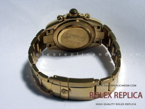 Rolex Daytona Replica Gold with Diamonds