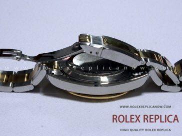 Rolex Daytona Replica Gray Dial Steel and Gold
