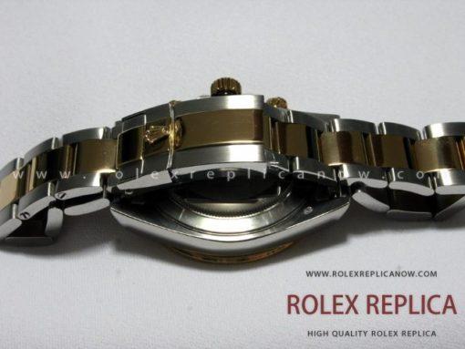 Rolex Daytona Replica White Dial Steel and Gold