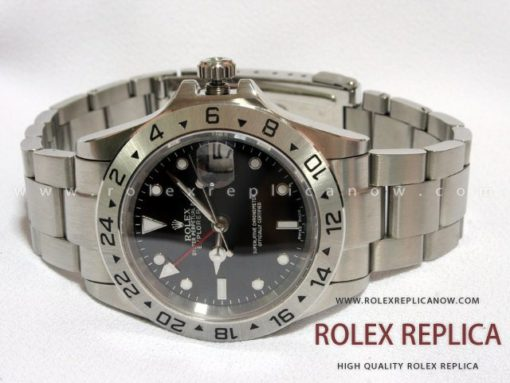 Rolex Explorer II Replica Black Dial 2836-2 Swiss Eta (1)