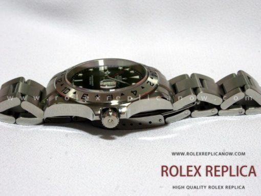 Rolex Explorer II Replica Black Dial 2836-2 Swiss Eta