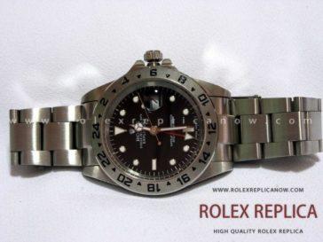 Rolex Explorer II Replica Black Dial