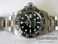 Rolex Gmt Master II Replica Black Dial Green Hand 2836-2 Swiss Eta (2)
