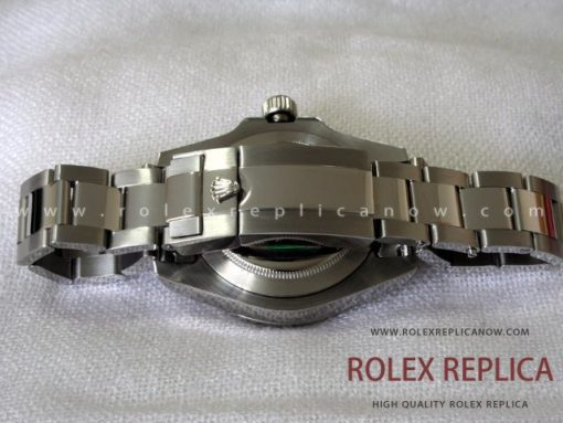 Rolex Gmt Master II Replica Black Dial Green Hand 2836-2 Swiss Eta