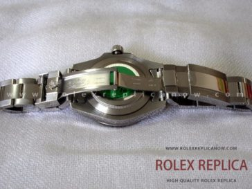 Rolex Gmt Master II Replica Black Dial Green Hand 2836-2 Swiss Eta (7)