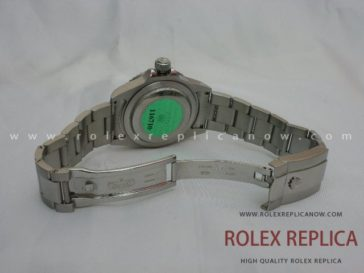 Rolex Gmt Master II Replica Black Dial Green Hand