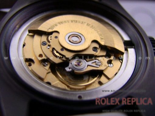 Rolex Milgauss Replica Pro Hunter Pvd Black 2836-2 Swiss Eta