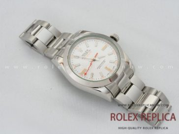 Rolex Milgauss Replica White Dial