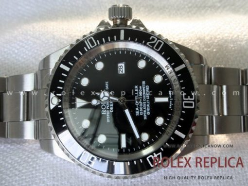 Rolex Sea Dweller Deepsea Replica Black Dial (