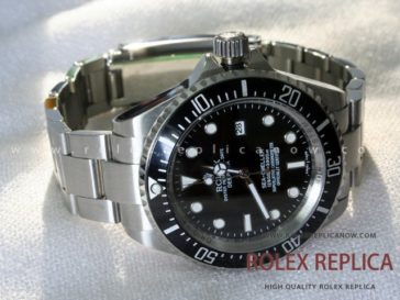 Rolex Sea Dweller Deepsea Replica Black Dial