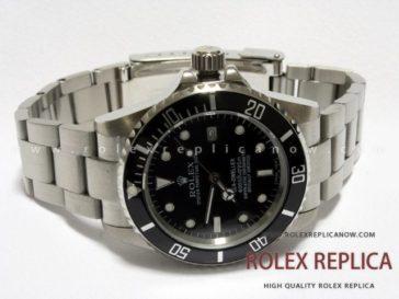 Rolex Sea Dweller Replica Black Dial