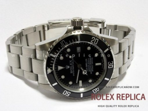 Rolex Sea Dweller Replica Black Dial