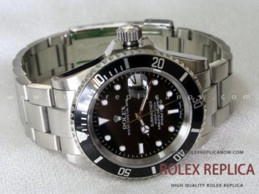Rolex Submariner Date Replica Black Bezel