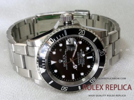 Rolex Submariner Date Replica Black Bezel (3)