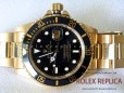 Rolex Submariner Date Replica Black Dial Gold (2)