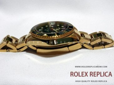 Rolex Submariner Date Replica Black Dial Gold 2836-2 Swiss Eta (2)