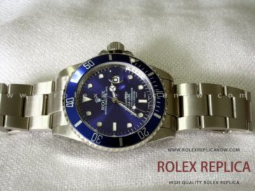 Rolex Submariner Date Replica Blue Bezel