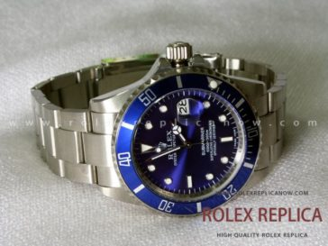 Submariner Date Blue Bezel