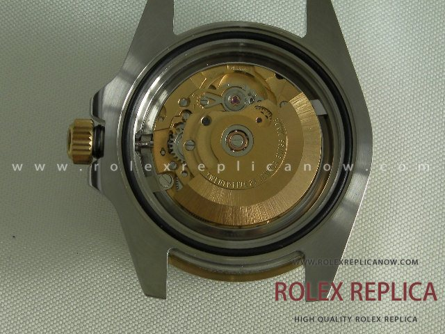 Rolex Submariner Date Replica Blue Dial Steel and Gold 2836-2 Swiss