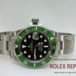 Rolex Replica Submariner Date Green Bezel Swiss Eta