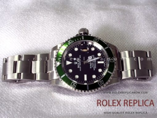 Rolex Submariner Date Replica Green Bezel