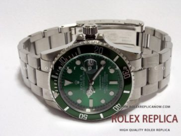Submariner Date Hulk Replica Green Dial