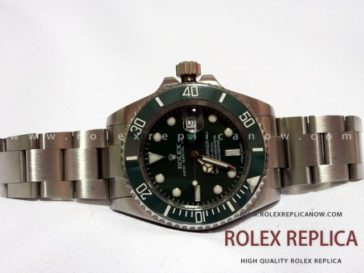 Rolex Submariner Date Replica Green Dial 2836-2 Swiss Eta