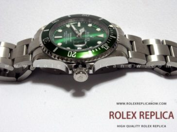 Rolex Submariner Date Replica Green Dial (3)