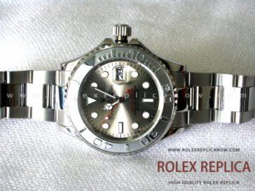 Rolex Yacht Master II Replica Gray Dial