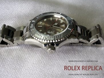 Rolex Yacht Master II Replica Gray Dial  (3)