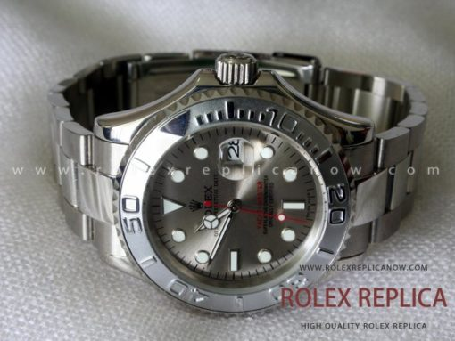 Rolex Yacht Master II Replica Gray Dial  (4)