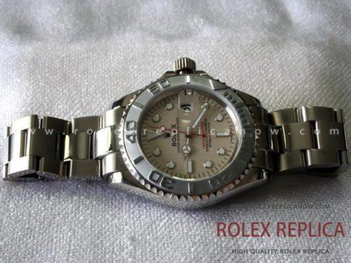 Rolex Yacht Master II Replica Platinum Dial