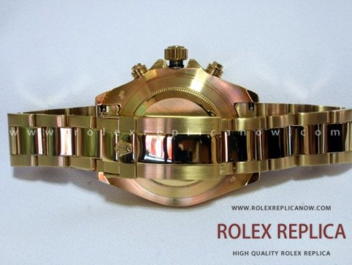 Rolex Yacht Master II Replica White Dial Gold