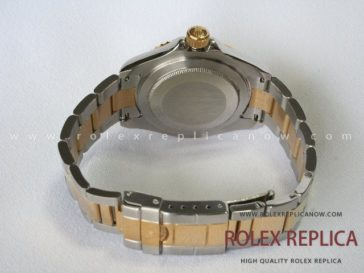 Rolex Yacht Master II Replica White Dial Steel and Gold